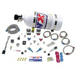 Nitrous Express 20616-10 Dual Nozzle Sport Compact System With 10lb Bottle